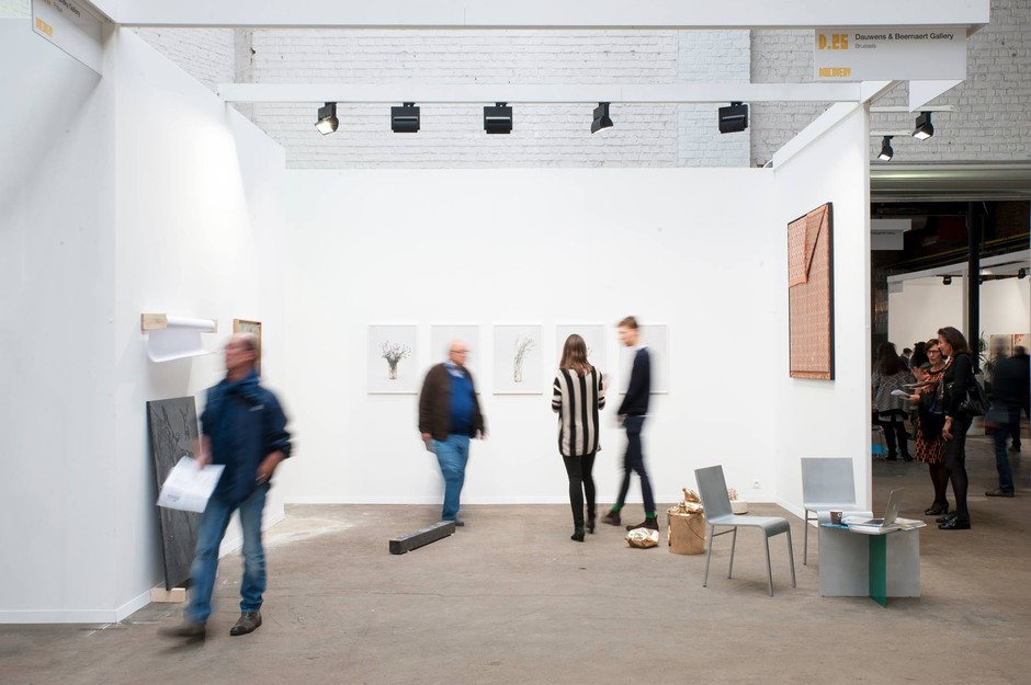 Exhibition view Art Brussels 2017 - Stanislas Lahaut