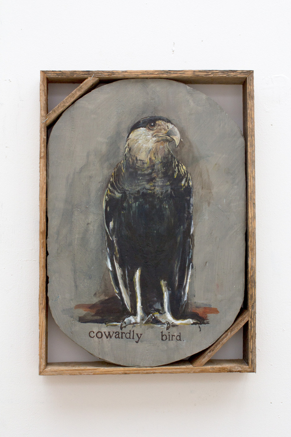 Untitled (Cowardly bird) - Isa De Leener