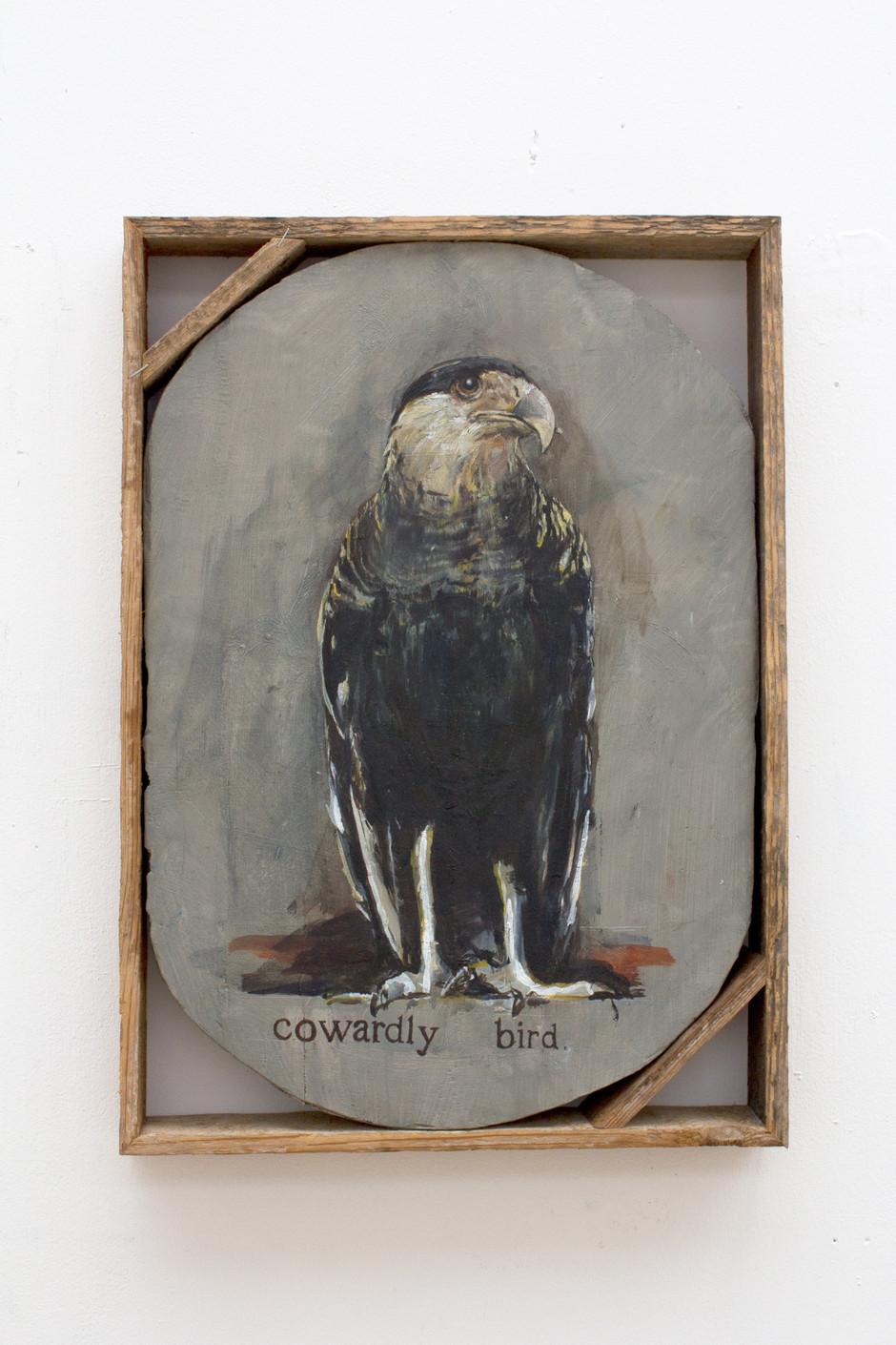 Untitled (Cowardly bird) - Isa De Leener