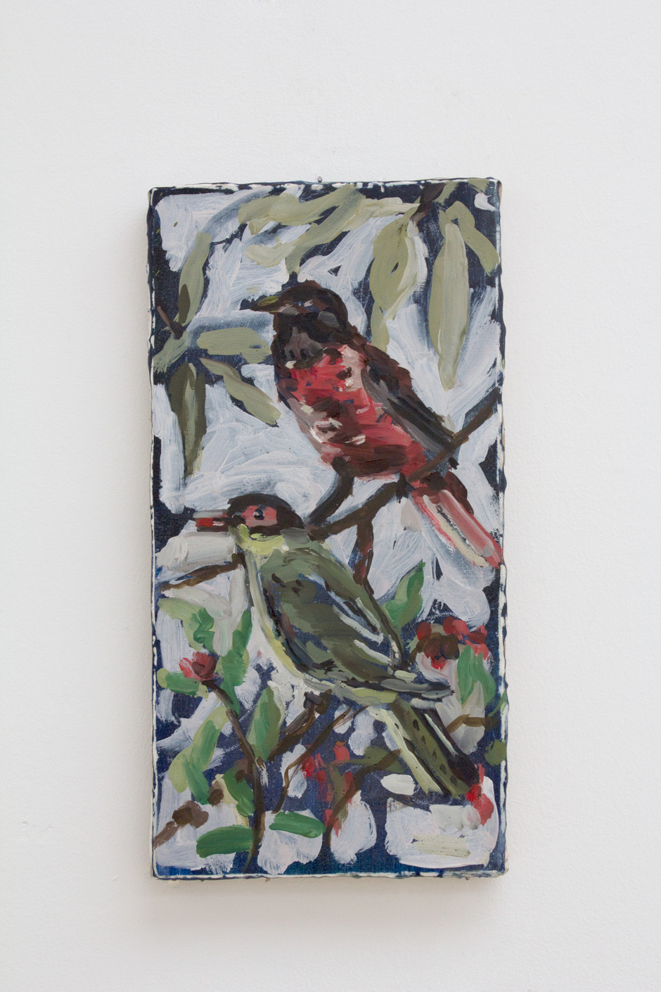 Untitled (Two birds) - Isa De Leener