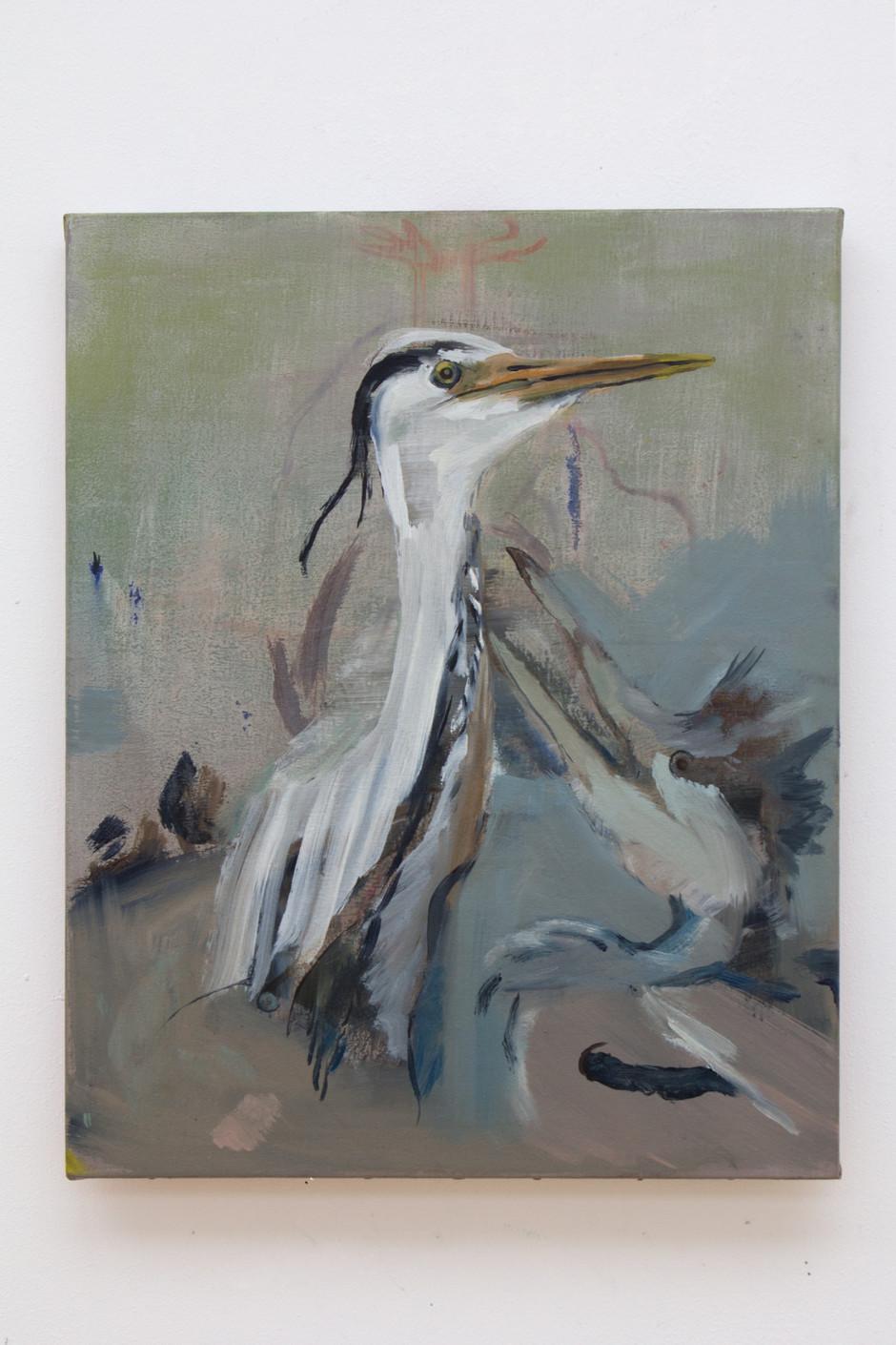 Untitled (Heron) - Isa De Leener
