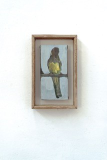 Untitled (framed bird) - Isa De Leener