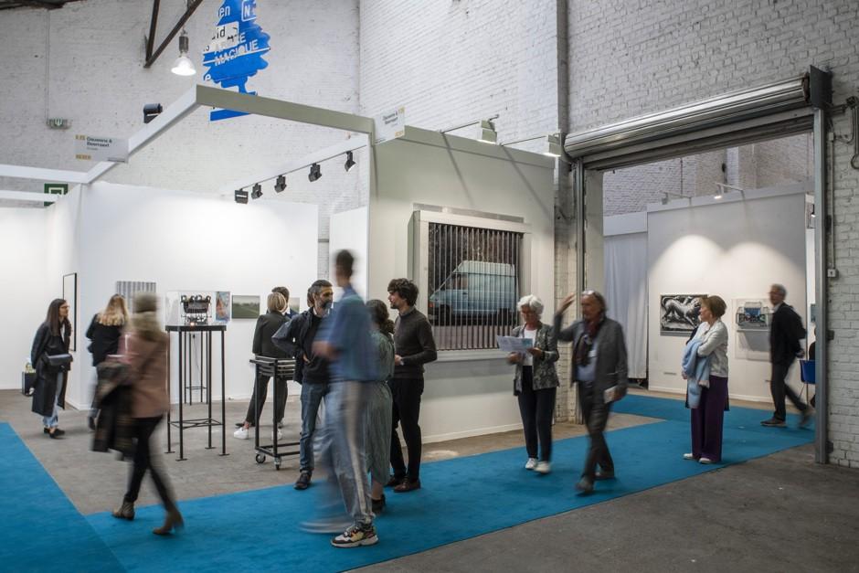 Exhibition view Art Brussels 2019 - Karl Philips