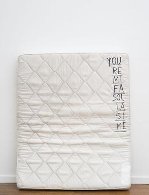 Stanislas Lahaut: Untitled (You re mi fa sol la si me)