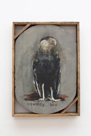 Isa De Leener: Untitled (Cowardly bird)