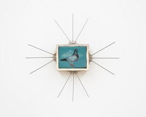 Isa De Leener: Untitled (Duif met ornament)