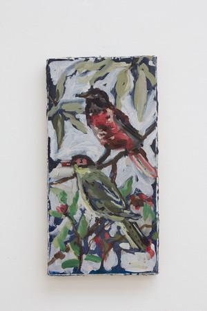 Isa De Leener: Untitled (Two birds)