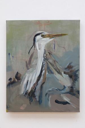 Isa De Leener: Untitled (Heron)