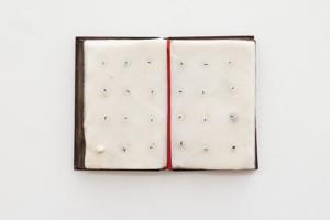 Werther Gasperini: C'era, 2019, wax, 38 x 37 cm