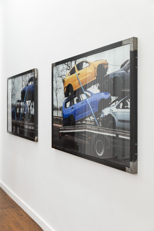 Exhibition view 'Scrap Metal I & II